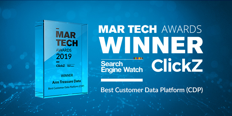Arm Treasure Data wins 2019 Mar Tech Best Customer Data Platform (CDP) Award
